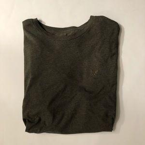 American Eagle Mens Army Green T-Shirt Size XXL